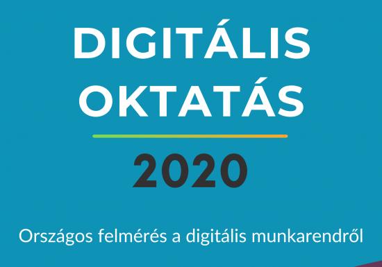 Eredmények a felmérésből – DIGITÁLIS OKTATÁS 2020