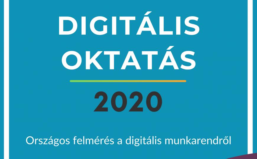 Eredmények a felmérésből - DIGITÁLIS OKTATÁS 2020