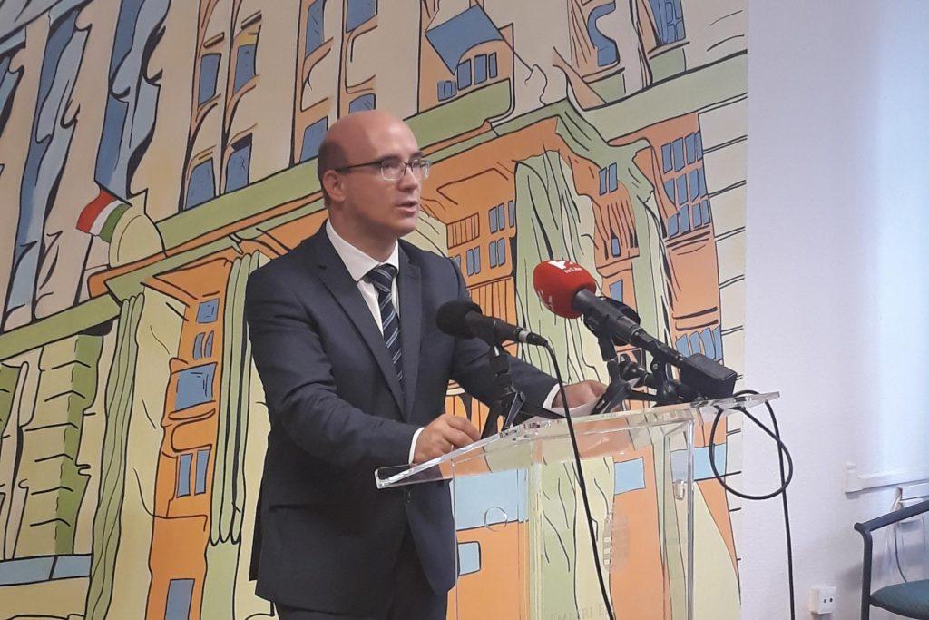 Dr. Maruzsa Zoltán 2020.11.10-ei sajtótájékoztatója