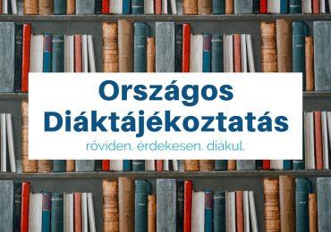 Megújult a Diáktájékoztatás weboldala